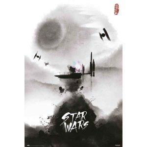 Κινηματογραφικές Αφίσες - Star Wars, Ink