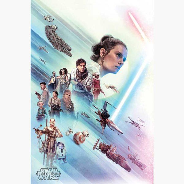 Κινηματογραφικές Αφίσες - Star Wars, The Rise of Skywalker (Rey)
