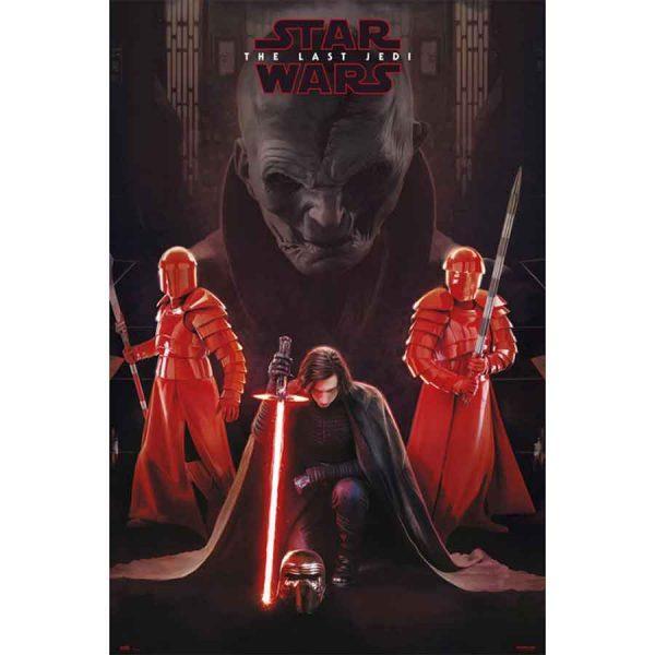 Κινηματογραφικές Αφίσες - Star Wars VIII, Snoke Leader