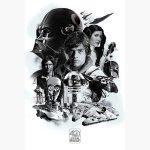 Κινηματογραφικές Αφίσες - Star Wars, 40th Aniversary