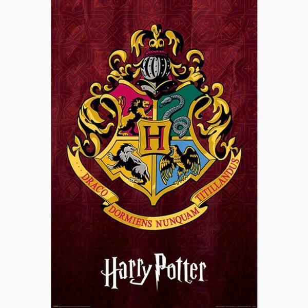 Κινηματογραφικές Αφίσες - Harry Potter (Hogwarts School Crest)