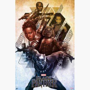 Κινηματογραφικές Αφίσες - Marvel, Black Panther