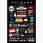 Τηλεοπτικές Σειρές - Friends, Infographic