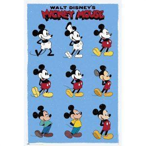 Παιδικές Αφίσες - Disney, Mickey Evolution