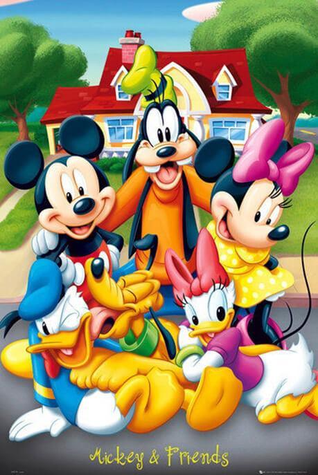 Αφίσα - Mickey and friends