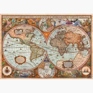 Puzzle - Ancient World Map