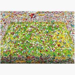 Puzzle - Crazy World Cup, Mordillo