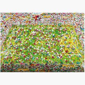Puzzle - Crazy World Cup, Mordillo