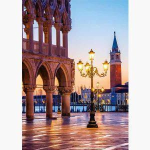 Puzzle - An Evening at the Plazzetta, Venice