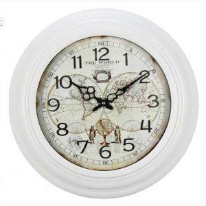 Ρολόι Τοίχου - The World white
