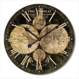 Ρολόι Τοίχου - The world