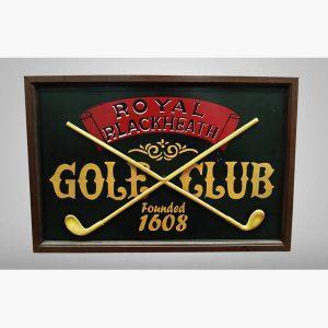 Ξυλόγλυπτοι Πίνακες - Golf Club