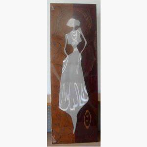 Ξυλόγλυπτοι Πίνακες - Κοπέλα 1